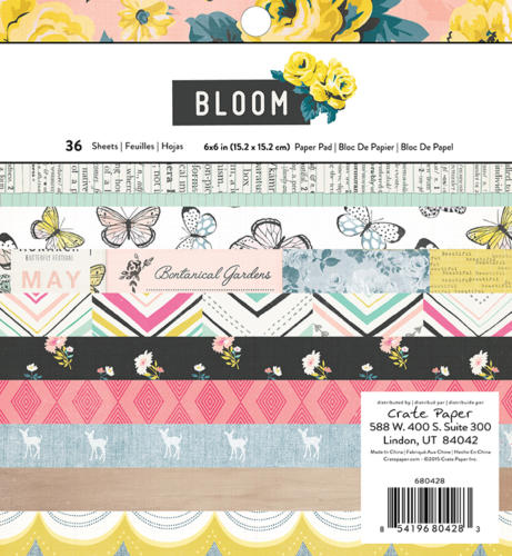 Paper Pad 15x15 - Crate Paper - BLOOM