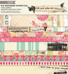 Paper Pad 15x15 - MME  Up and Away