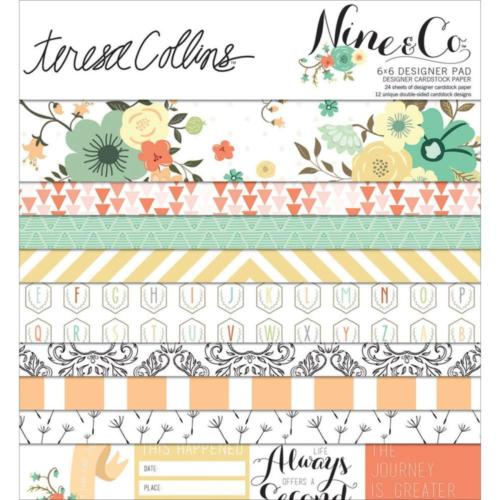 Paper Pad 15x15 - Teresa Collins - NINE & CO