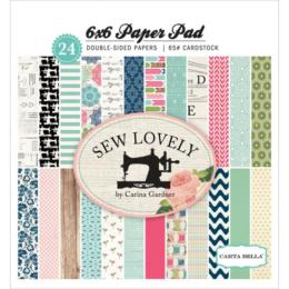 Paper Pad 15x15 - Carta Bella - SEW LOVELY