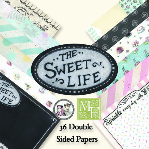 Paper Pad 15x15 - Melissa Frances - THE SWEET LIFE