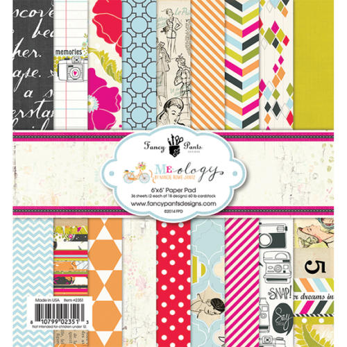 Paper Pad 15x15 - Fancy Pants - MEOLOGY