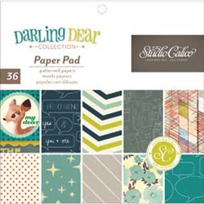 Paper Pad 15x15 - Studio Calico - DARLING DEAR