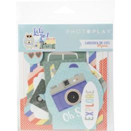 PhotoPlay -  Chipboard LET'S GO