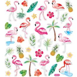 Autocollants Eté - Stickers FLAMINGO