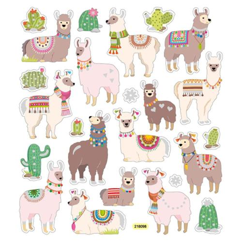 Autocollants Cactus - Stickers LAMA FUN