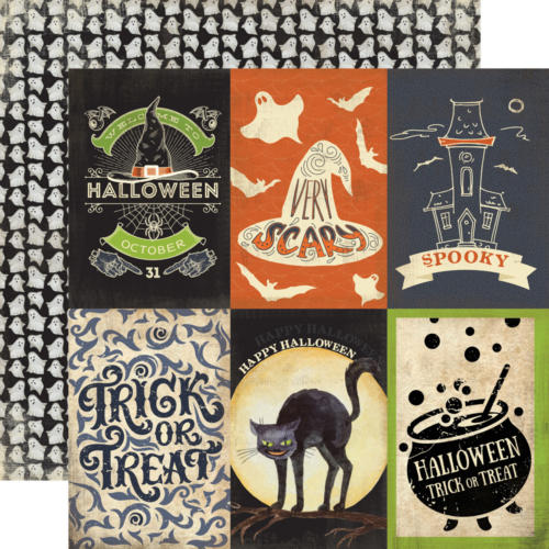 Carta Bella Halloween - Haunted - 4x6 Journaling Cards