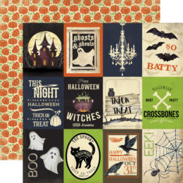 Carta Bella Halloween - Haunted - 3x4 Journaling Cards