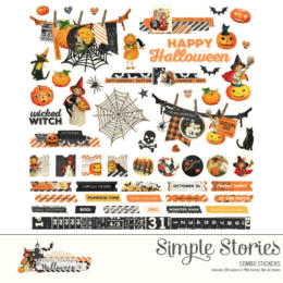 Stickers Halloween - HALLOWEEN SIMPLE STORIES