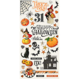 Chipboard Halloween - HALLOWEEN SIMPLE STORIES