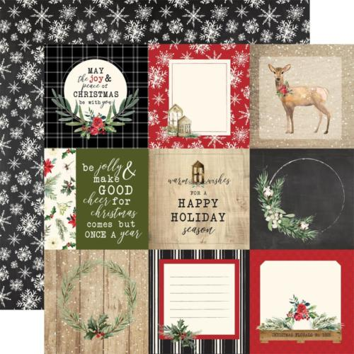 CHRISTMAS - Journlaing Cards 4x4 - Carta Bella