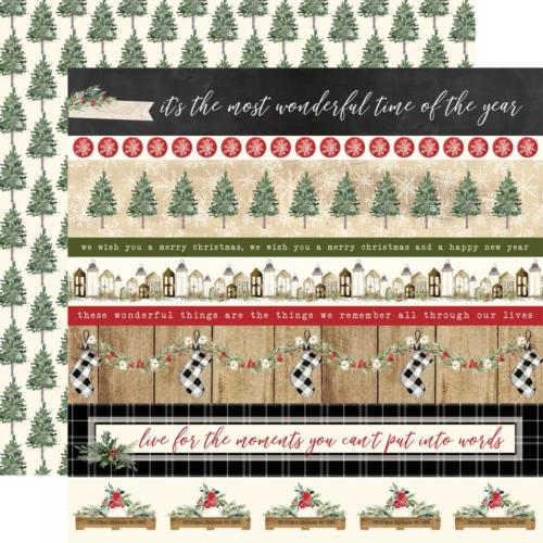 CHRISTMAS - Border Strips - Carta Bella