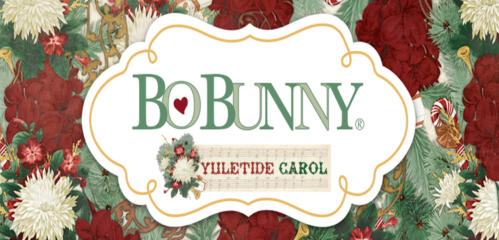 YULETIDE CAROL -  Kit Papiers/Stickers/Chipboard - Bobunny