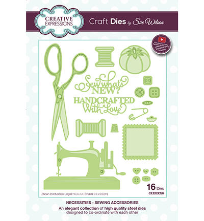 Découpe Creative Expressions - NECESSITIES SEWING ACCESSORIES