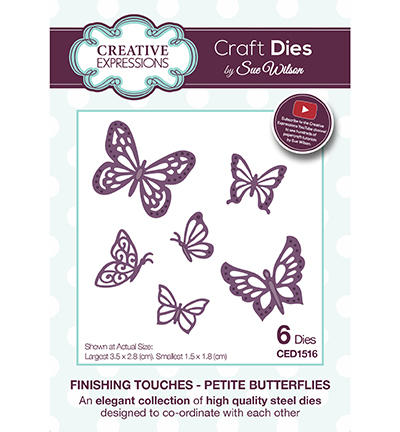 Découpe Creative Expressions - Finishing Touches - PETITE BUTTERFLIES