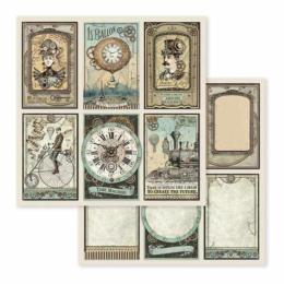 STAMPERIA - Collection VOYAGES FANTASTIQUES - Cards papier 30x30