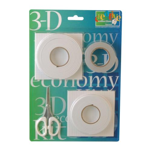 KIT ECO ADHESIF - Mousse 3D + Double Face