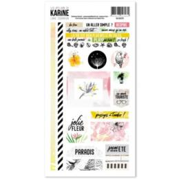 Les Ateliers de Karine - STICKERS LONG COURRIER