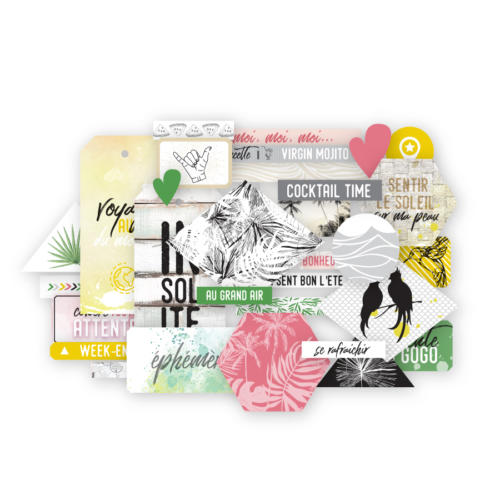 Les Ateliers de Karine - DIE CUTS LONG COURRIER