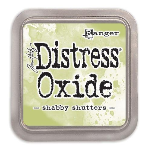 Encre Distress Oxide - SHABBY SHUTTERS Ranger Ink by Tim Holtz