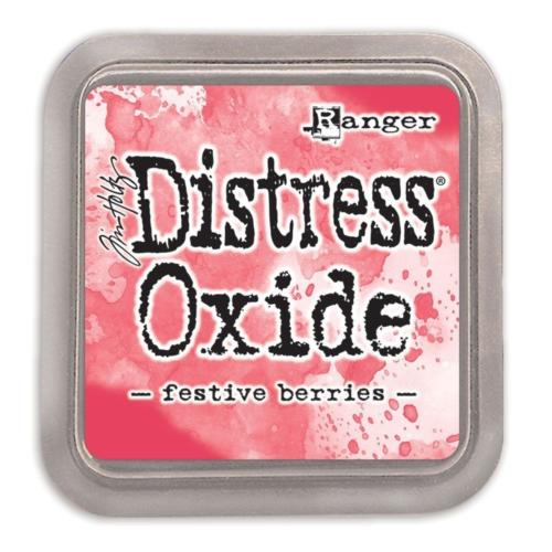 Encre Distress Oxide - FESTIVE BERRIES Ranger Ink by Tim Holtz