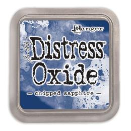 Encre Distress Oxide - CHIPPED SAPPHIRE Ranger Ink by Tim Holtz