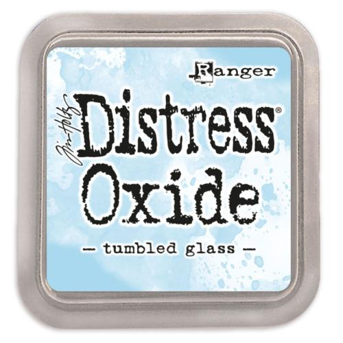 Encre Distress Oxide - TUMBLED GLASS Ranger Ink by Tim Holtz