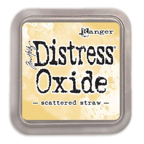 Encre Distress Oxide - SCATTERED STRAW Ranger Ink by Tim Holtz