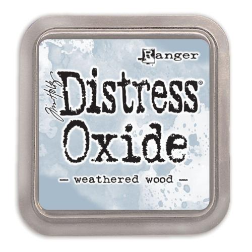 Encre Distress Oxide - WEATHERED WOOD Ranger Ink by Tim Holtz