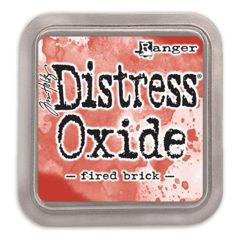 Encre Distress Oxide - FIRED BRICK Ranger Ink by Tim Holtz