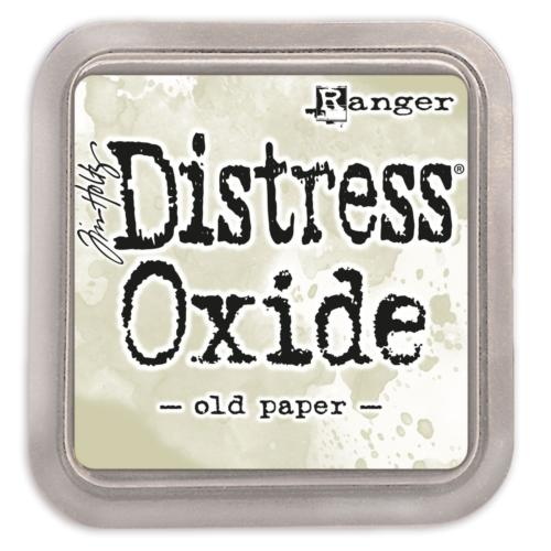 Encre Distress Oxide - OLD PAPER Ranger Ink by Tim Holtz