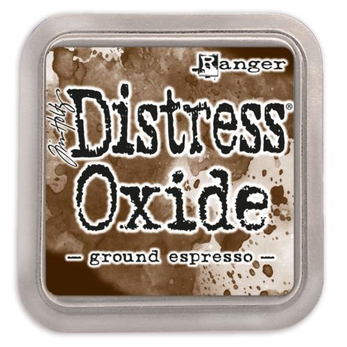 Encre Distress Oxide - GROUND ESPRESSO Ranger Ink by Tim Holtz