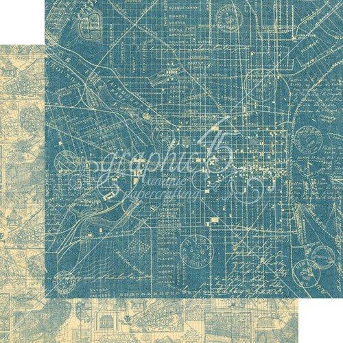 Graphic 45 - Cityscapes -  Map the Past