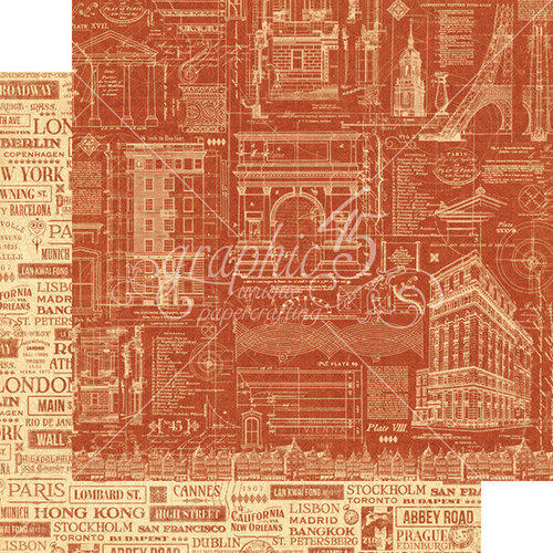 Graphic 45 - Cityscapes -  Street of Dreams