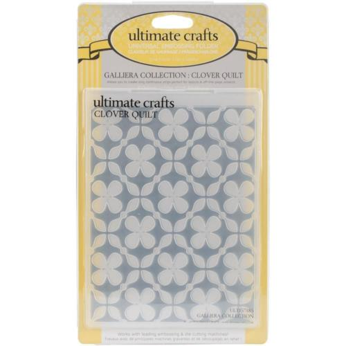 Plaque Embossage - CLOVER QUILT - Ultimate Crafts
