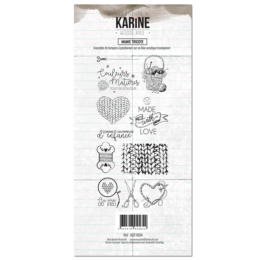 Tampons Clear - Woodland - MAMIE TRICOTE - Les Ateliers de Karine