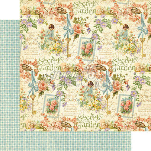 Graphic 45 - Secret Garden -  Posy Patch