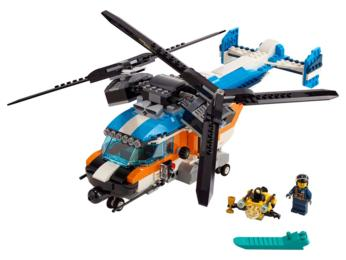 Lego Creator - HELICOPTERE A DOUBLE HELICE 31096