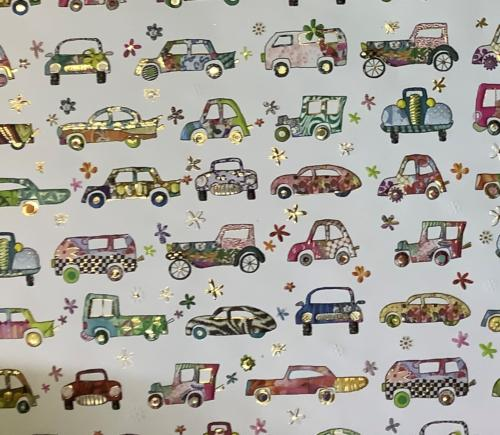 Papier Fantaisie Cartonnage TURNOWSKY - CARS
