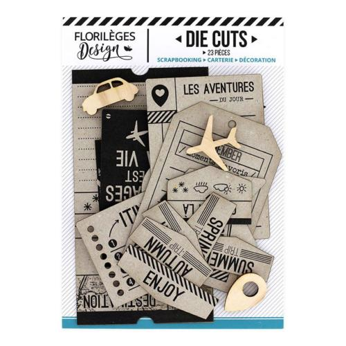 Die Cuts - TICKET VOYAGE - Florilèges Design