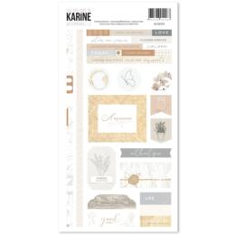 Les Ateliers de Karine - INTEMPORELLE Stickers 15x30