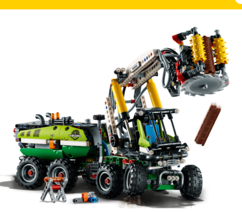 Lego Technic - LE CAMION FORESTIER