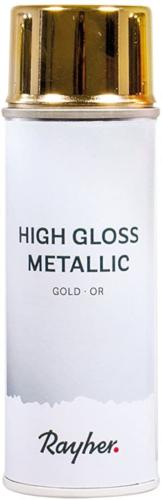 Bombe de Peinture : OR METALLIC HIGH GLOSS 200ml
