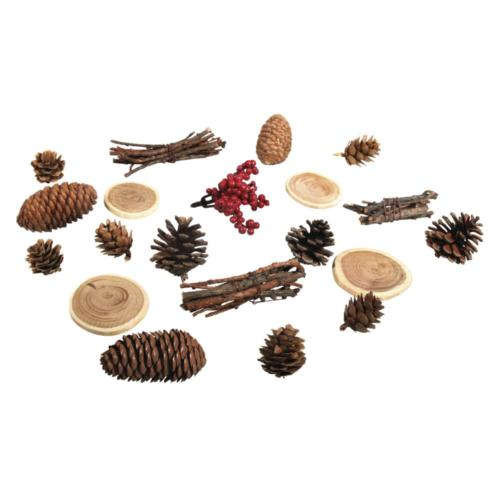 ASSORTIMENT de CONES & BRANCHES (x20u)