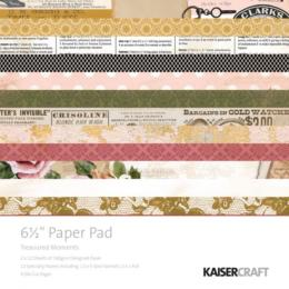 Paper Pad 16.5x16.5 - KAISERCRAFT - Treasured Moments