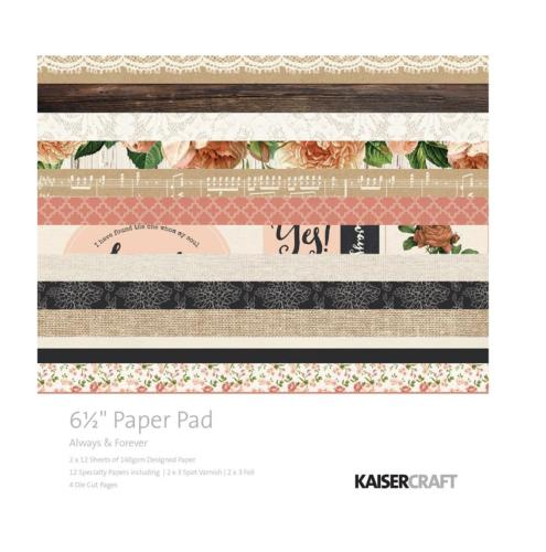 Paper Pad 16.5x16.5 - KAISERCRAFT - Always & Forever
