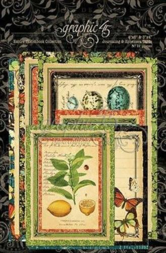 JOURNALING & EPHEMERA CARDS - Nature Sketchbook - Graphic 45