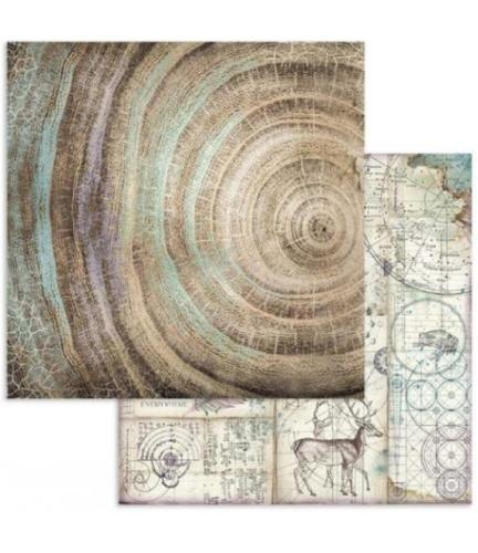STAMPERIA - Collection COSMOS - Noeuds  papier 30x30