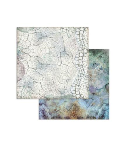 STAMPERIA - Collection COSMOS - Ecorce  papier 30x30