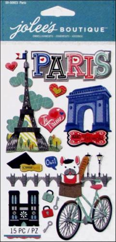 Autocollants Voyage  - Stickers 3D Paris